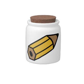 Pencil Holder Candy Jars