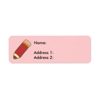 Pencil Label