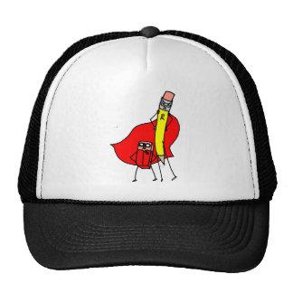 Pencil Man and Eraser Boy Trucker Hat