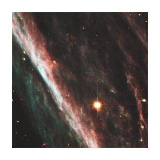 Pencil Nebula Remnants of Exploded Star NGC 2736 Canvas Print