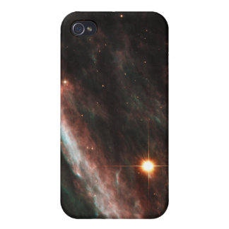 Pencil Nebula Remnants of Exploded Star NGC 2736 iPhone 4/4S Cover