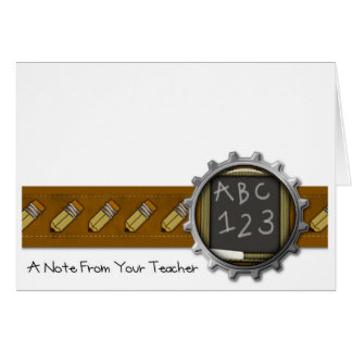 Pencil Note Cards by MagsGraphics