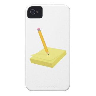 Pencil & Note Case-Mate iPhone 4 Case