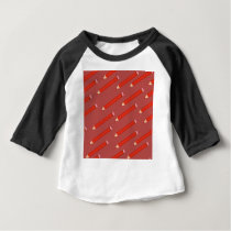 pencil pattern baby T-Shirt