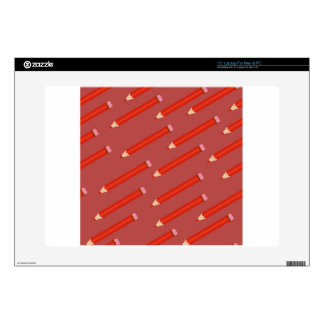 pencil pattern laptop decal