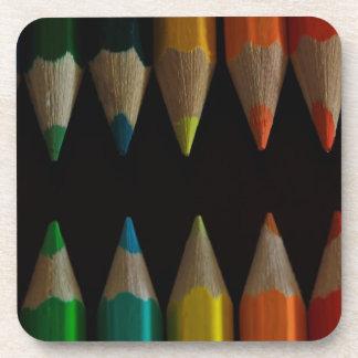 Pencil Picker Beverage Coaster