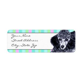Pencil Poodle Label