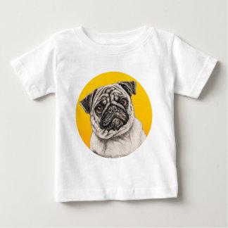 Pencil Pug Baby T-Shirt