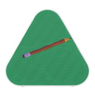Pencil Resting Deep Green Speaker