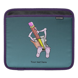 Pencil Sharpener Surrealism Sleeve For iPads