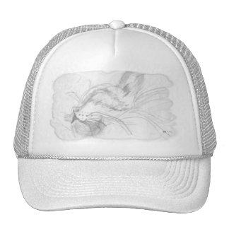 Pencil Sketch Cap - Trucker Hat