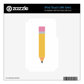 PENCIL SKIN FOR iPod TOUCH 4G