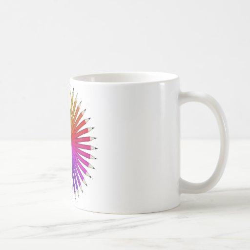 pencil swatch coffee mug