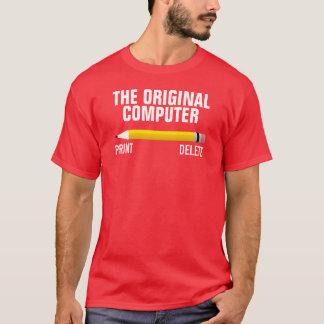 Pencil the original computer shirt