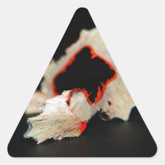 Pencil Triangle Sticker