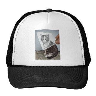Pencil Vs Camera - 4 Eyes Cat Trucker Hat