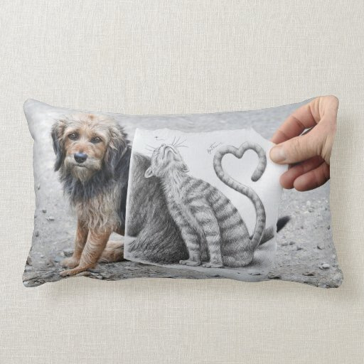 Pencil Vs Camera - Dog and Cat Pillow