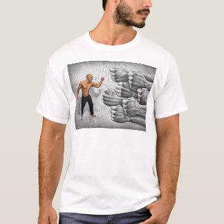 Pencil Vs Camera - Fight and Determination T-Shirt