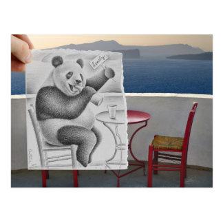 Pencil Vs Camera - Lonely Post Card