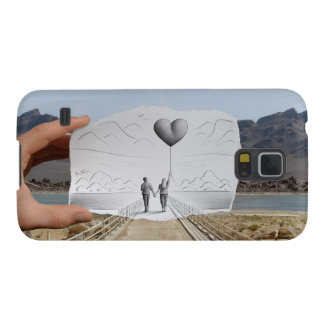 Pencil Vs Camera - Lovers Galaxy S5 Covers
