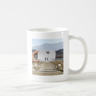 Pencil Vs Camera - Lovers Classic White Coffee Mug