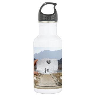 Pencil Vs Camera - Lovers 18oz Water Bottle