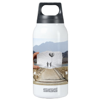 Pencil Vs Camera - Lovers 10 Oz Insulated SIGG Thermos Water Bottle