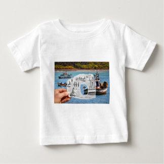 Pencil Vs Camera - Mermaid Baby T-Shirt