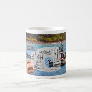 Pencil Vs Camera - Mermaid Coffee Mug