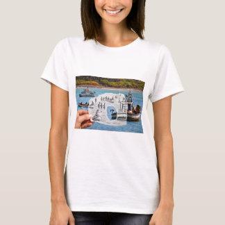 Pencil Vs Camera - Mermaid T-Shirt