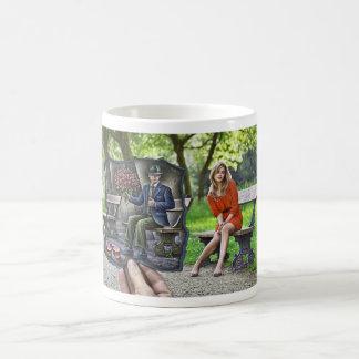 Pencil Vs Camera - Saint Valentine Gentleman Coffee Mug