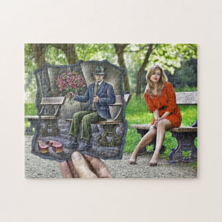 Pencil Vs Camera - Saint Valentine Gentleman Jigsaw Puzzle