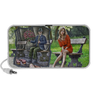 Pencil Vs Camera - Saint Valentine Gentleman Portable Speaker
