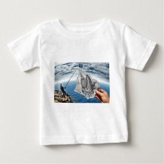 Pencil Vs Camera - Shark Baby T-Shirt