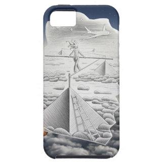 Pencil Vs Camera - Tightrope Walker iPhone 5 Covers