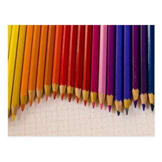 Pencil Wave Post Cards