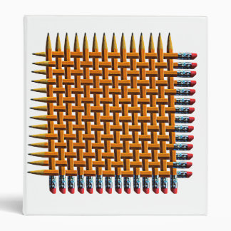 Pencil Weave Design Binder