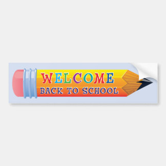 Pencil - Welcome Back to School Wall Stickers