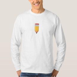 PencilCYO White Twitter Long Sleeve T-Shirt