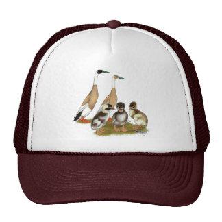 Penciled Runner Duck Family Hats