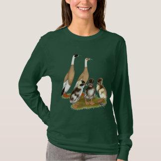 Penciled Runner Duck Family T-Shirt