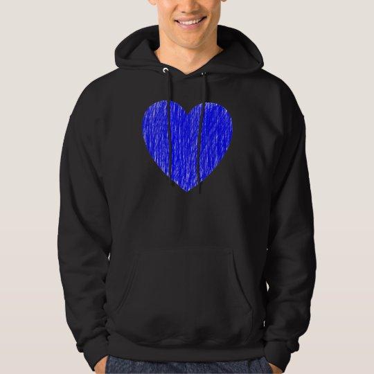 Pencilled in - Blue Hoodie