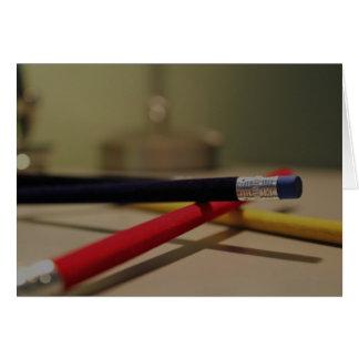 Pencils 1 card
