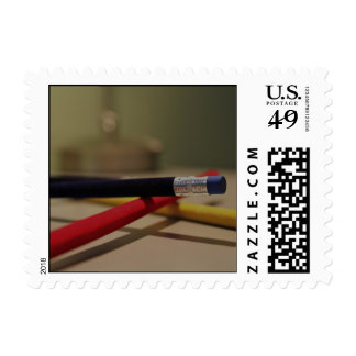 Pencils 1 postage stamps