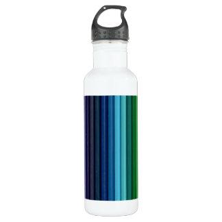 Pencils 24 oz. White Water Bottle