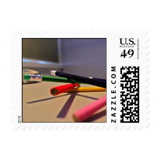 Pencils 3 stamps