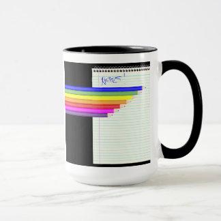 Pencils and Notebook Mug