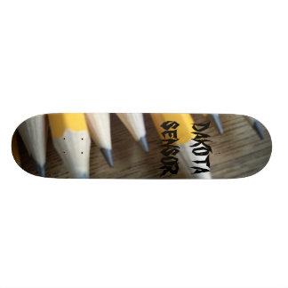 pencils, DAKOTA SENSOR Skateboard Deck