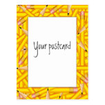 Pencils Frame Postcard