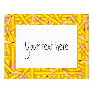 Pencils Frames Letterhead